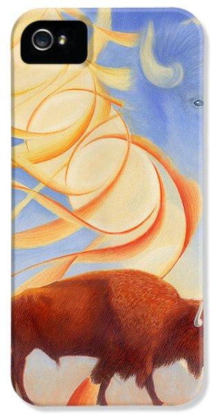 Receiving Buffalo IPhone 5 Case by Robin Aisha Landsong