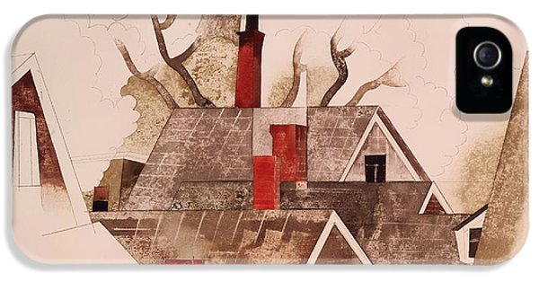 Red Chimneys IPhone 5 Case