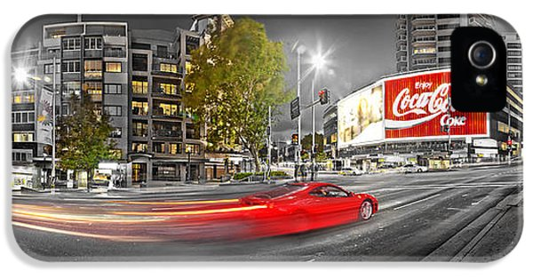 Red Lights Sydney Nights IPhone 5 Case