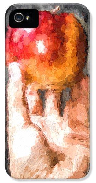 Red Luscious Bites IPhone 5 Case by Georgiana Romanovna