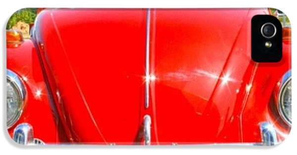 Classic iPhone 5 Case - Red Vw by Georgia Fowler