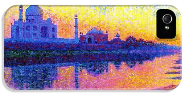 Taj Mahal, Reflections Of India IPhone 5 Case
