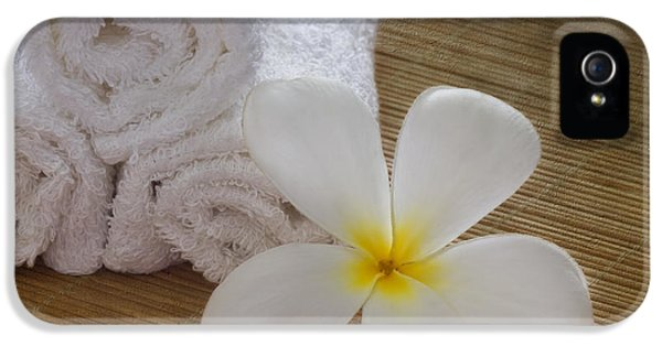 Relax At The Spa IPhone 5 Case