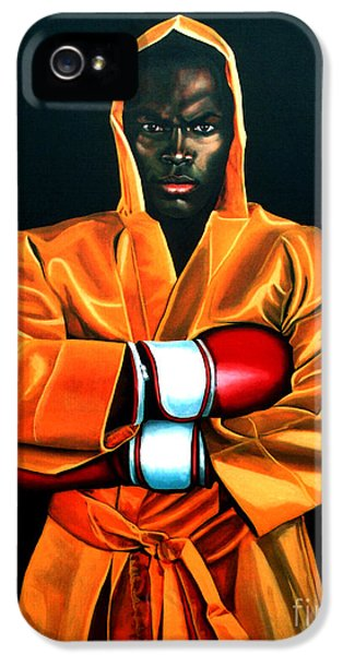 Remy Bonjasky IPhone 5 Case by Paul Meijering