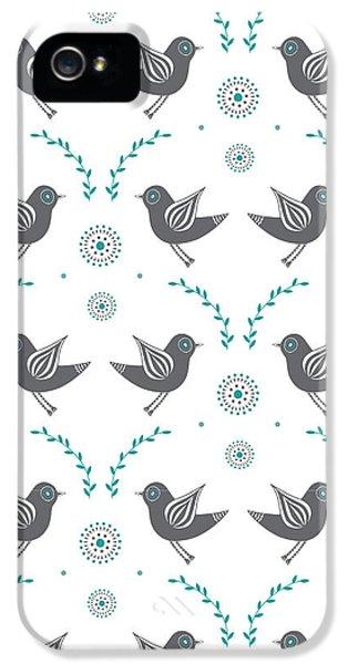 Repeat Lovebird IPhone 5 Case