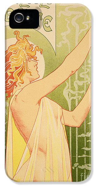Reproduction Of A Poster Advertising 'robette Absinthe' IPhone 5 Case