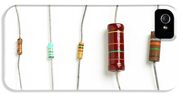 Resistors IPhone 5 Case by Science Photo Library