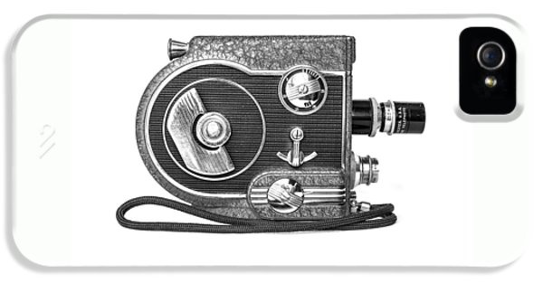 Revere 8 Movie Camera IPhone 5 Case by Jon Woodhams