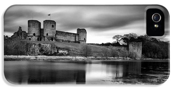 Rhuddlan Castle IPhone 5 Case by Dave Bowman