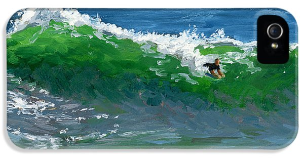 Ride The Wild Wedge IPhone 5 Case by Alice Leggett