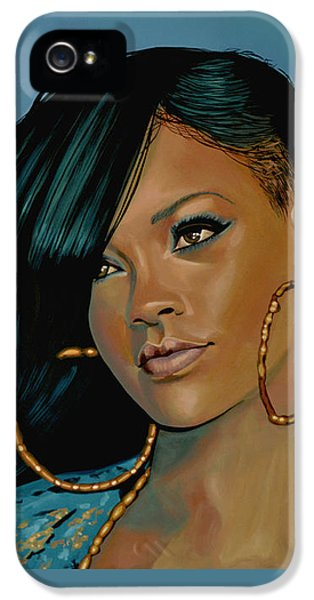 Rihanna Painting IPhone 5 Case