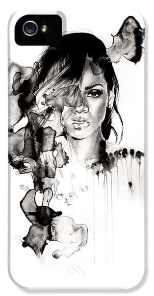 Rihanna Stay IPhone 5 Case by Molly Picklesimer