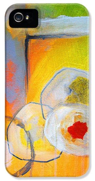 Rings Abstract IPhone 5 Case by Nancy Merkle