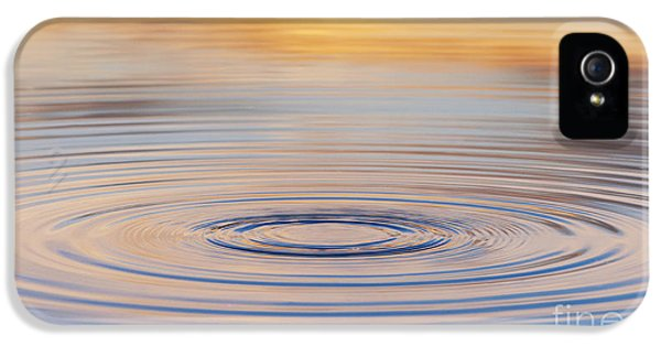 Ripples On A Still Pond IPhone 5 Case by Tim Gainey
