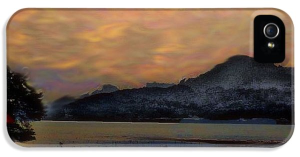 Rising Sun IPhone 5 Case by Terence Morrissey