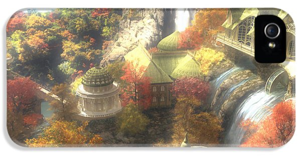 Rivendell IPhone 5 Case by Cynthia Decker