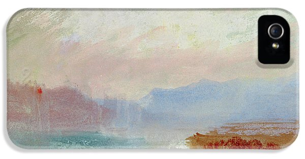 River Scene IPhone 5 Case by Joseph Mallord William Turner