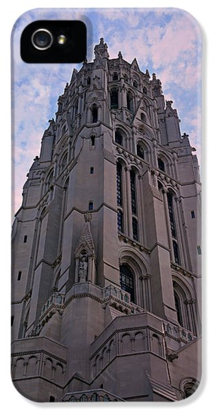 Harlem iPhone 5 Case - Riverside Church by Stephen Stookey