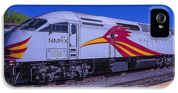 Roadrunner iPhone 5 Case - Road Runner Express Train by Garry Gay
