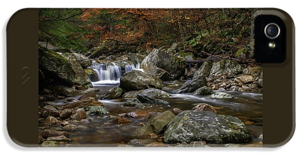 Roaring Brook - Sunderland Vermont Autumn Scene  IPhone 5 Case
