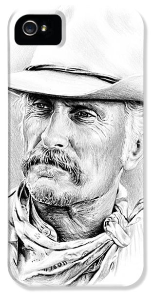 Robert Duvall IPhone 5 Case by Andrew Read