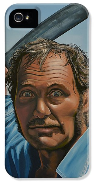 Robert Shaw In Jaws IPhone 5 Case