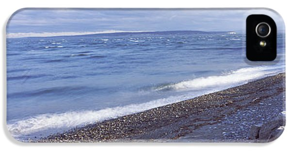 Rocks On The Coast, Fort Casey State IPhone 5 Case by Panoramic Images