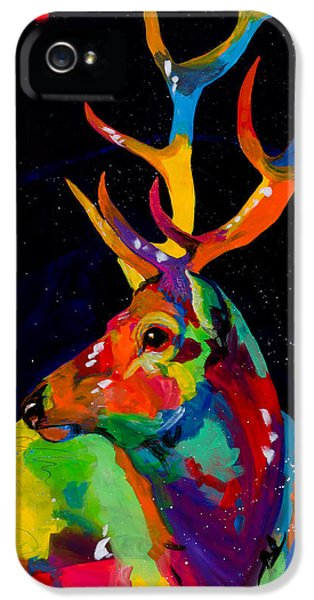 Rocky Mountain Elk IPhone 5 Case by Tracy Miller