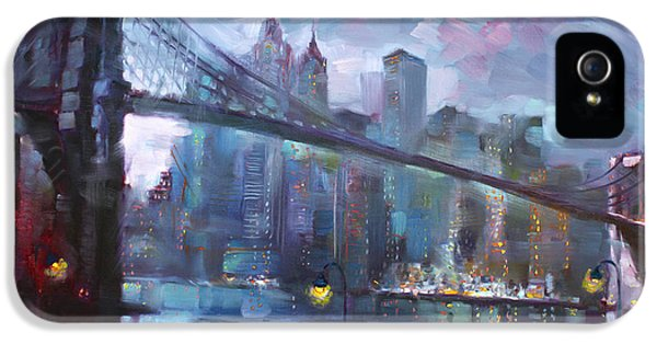 Romance By East River II IPhone 5 Case