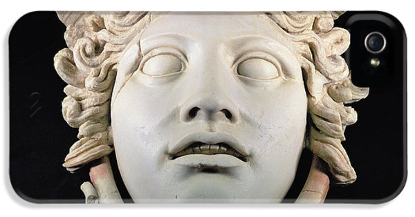 Rondanini Medusa, Copy Of A 5th Century Bc Greek Marble Original, Roman Plaster IPhone 5 Case by .