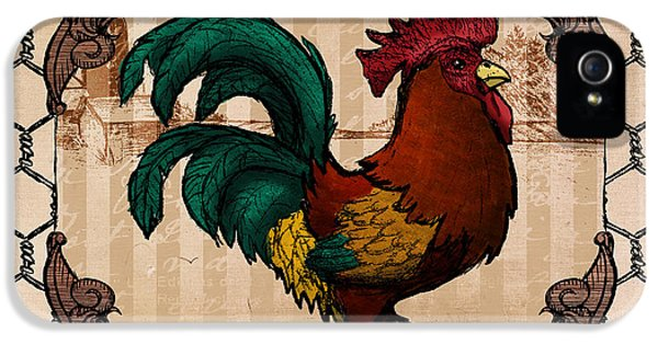 Rooster I IPhone 5 Case
