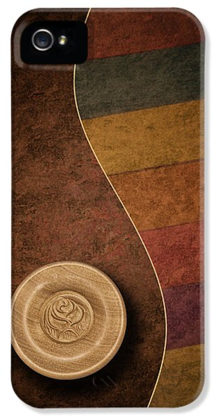 Rose Button IPhone 5 / 5s Case by Tom Mc Nemar