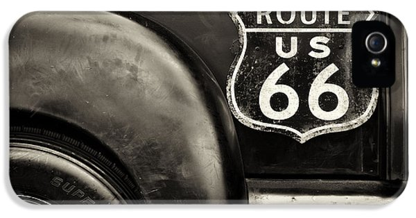Route 66 IPhone 5 Case by Tim Gainey