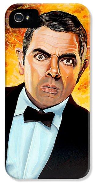 Rowan Atkinson Alias Johnny English IPhone 5 Case