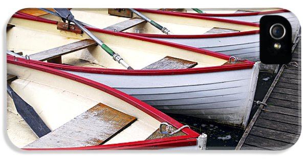Rowboats IPhone 5 / 5s Case by Elena Elisseeva