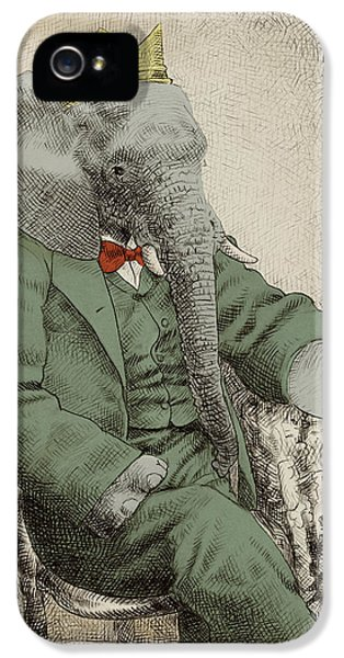 Animals iPhone 5 Case - Royal Portrait by Eric Fan