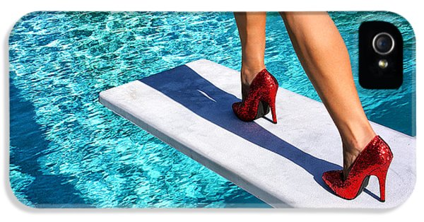 Ruby Heels Ready For Take-off Palm Springs IPhone 5 Case