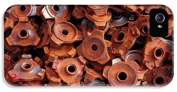Rusty Cogwheels IPhone 5 Case by Dirk Wiersma
