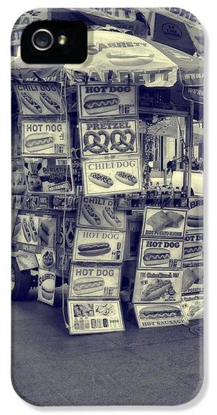 Sabrett Vendor New York City IPhone 5 Case by Dan Sproul
