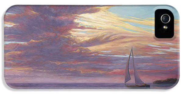 Sailing Away IPhone 5 Case by Lucie Bilodeau