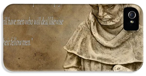 Saint Francis Of Assisi IPhone 5 Case