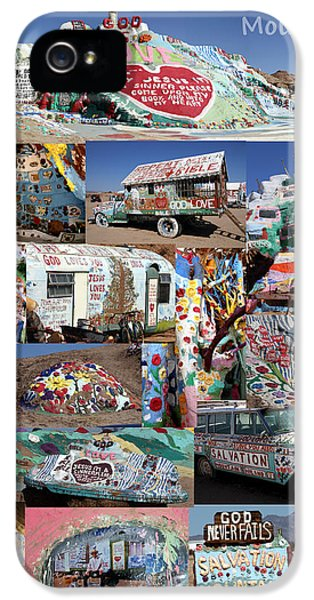 Salvation Mountain IPhone 5 Case