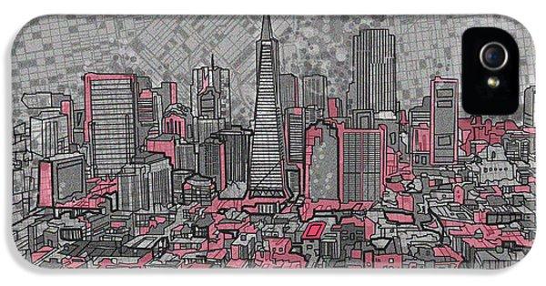 San Francisco Cityscape 2 IPhone 5 Case