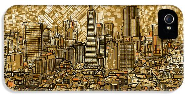 San Francisco Cityscape IPhone 5 Case