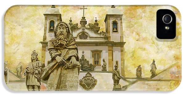 Sanctuary Of Bom Jesus Do Congonhas  IPhone 5 Case