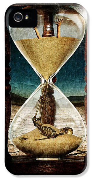 Sands Of Time ... Memento Mori  IPhone 5 Case
