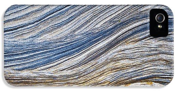 Sandstone Strata IPhone 5 Case by Tim Gainey