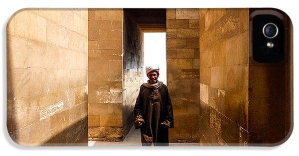 Saqqara Temple IPhone 5 Case