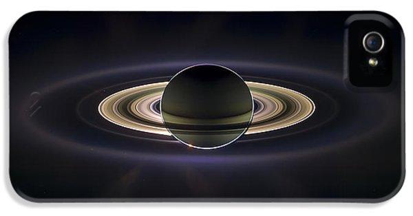 Saturn IPhone 5 Case by Adam Romanowicz