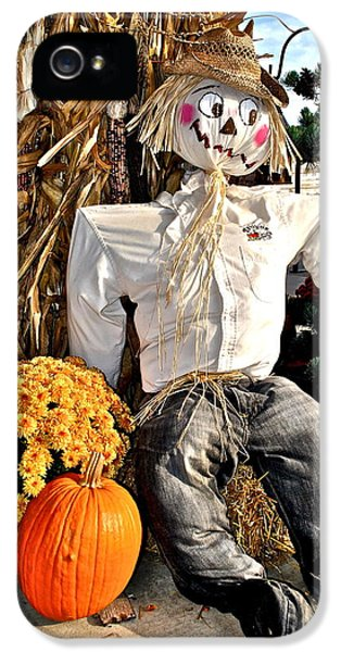 Scarecrow IPhone 5 Case by Frozen in Time Fine Art Photography